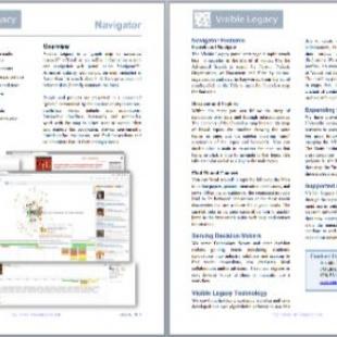 Datasheet for Visible Legacy Navigator